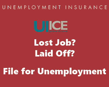 UIICE login and apply for regular unemployment insurance